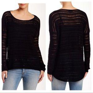 Love Token Gabe Scoop Neck Knit Hi-Lo Sweater M 10